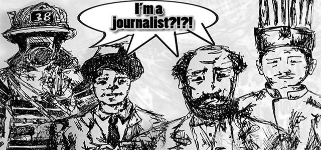 Journalism Cartoon
