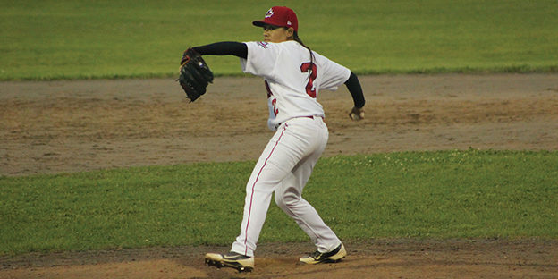 Brittany Chan: Strikes out in bid to make men's baseball team
