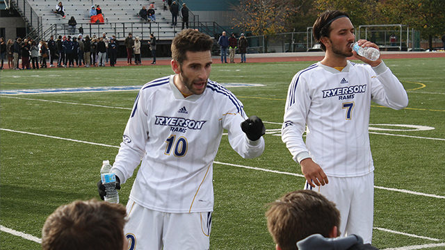 Rams round up OUA soccer awards