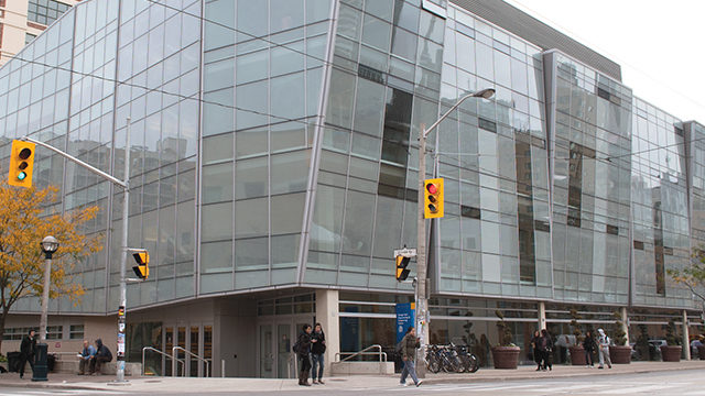 The George Vari Engineering building at Ryerson University. (File photo)
