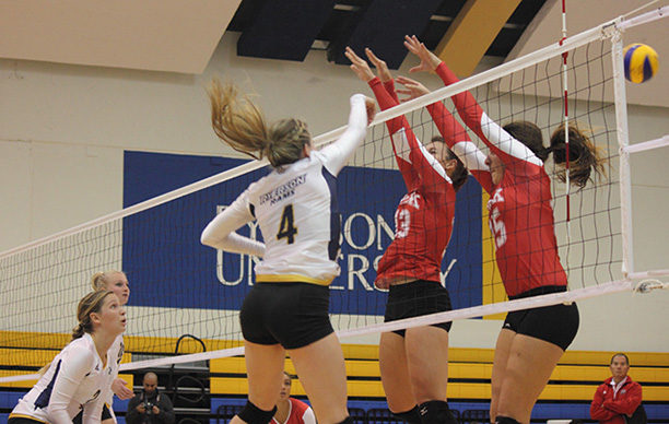 Tough night for Ryerson Rams volleyball teams