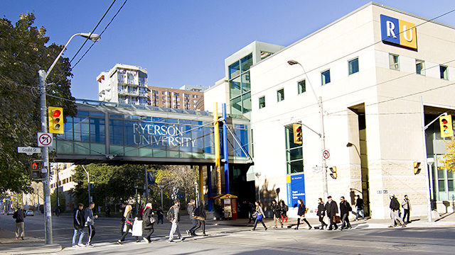Ryerson was ranked in the bottom bracket of the annual world rankings, behind 24 other Canadian schools. (Ryersonian file photo)