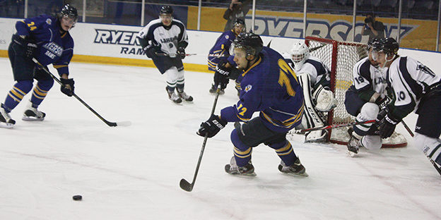 Men's hockey team finish pre-season on winning note