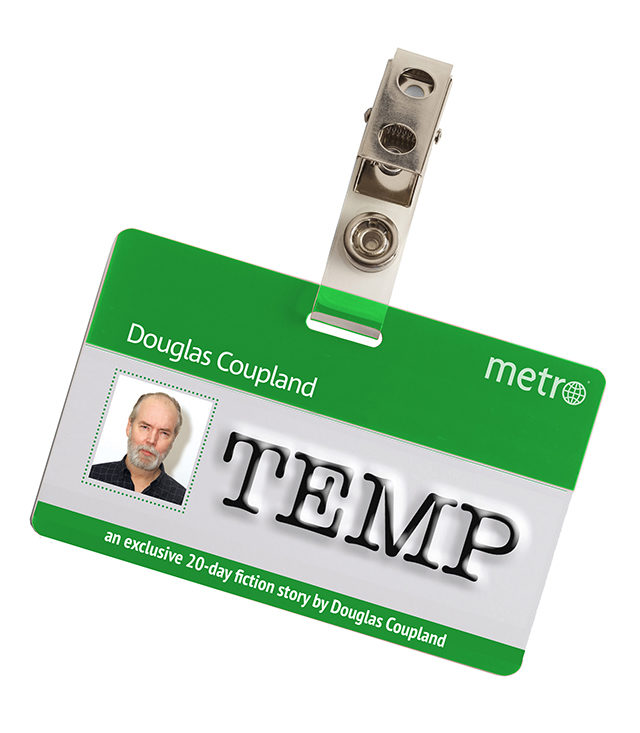Douglas Coupland will be at Ryerson University Nov. 12 to speak about his new project.