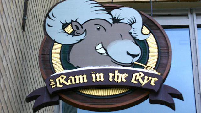 The Ram in the Rye is Ryerson's campus pub. (Ryersonian file photo)