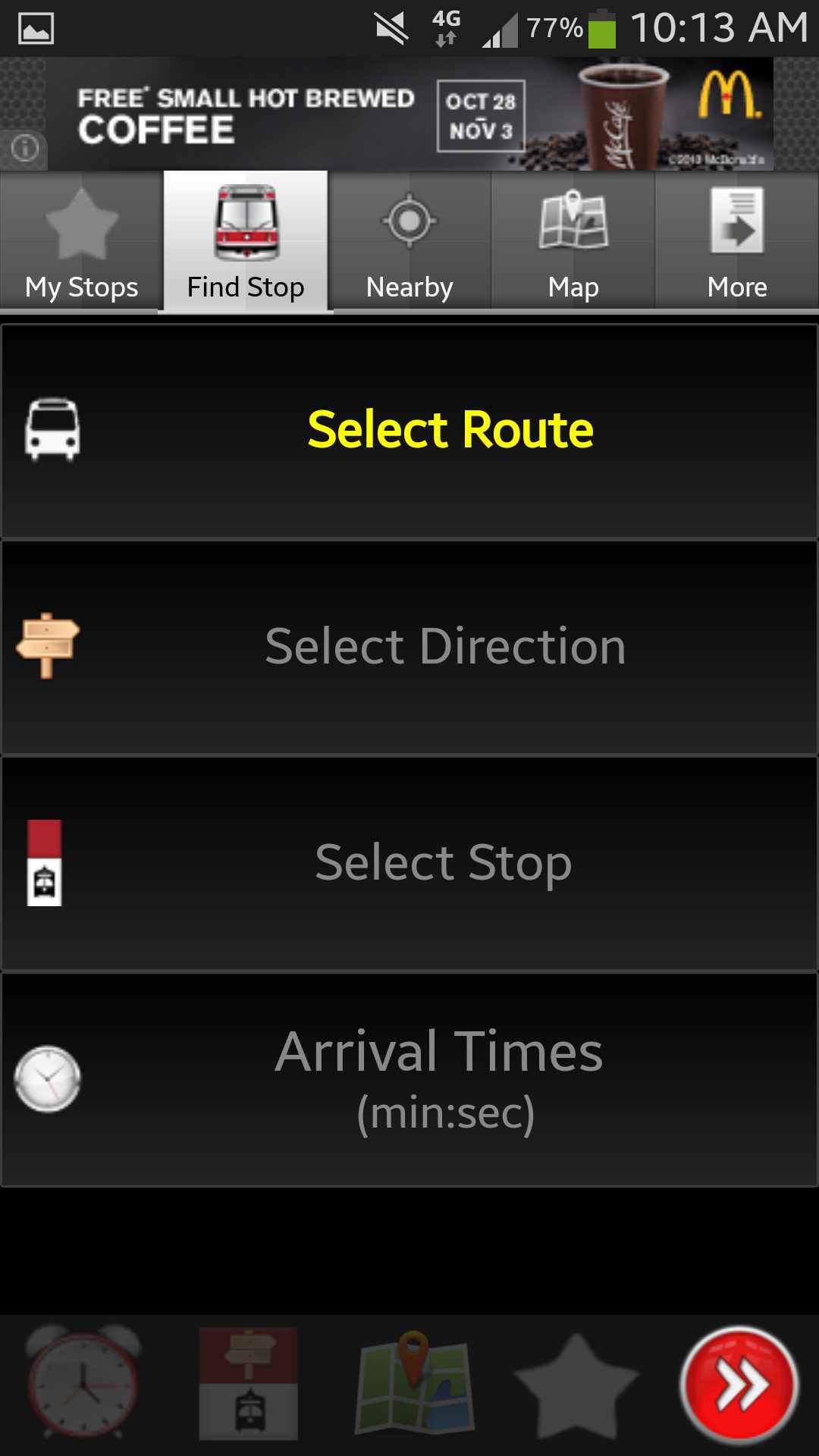 Transit Now Toronto App