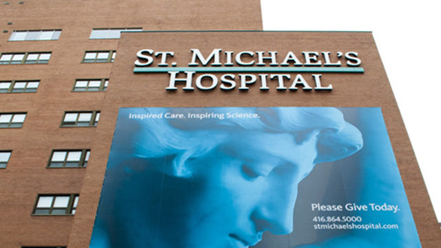 Ryerson has entered a 20-year partnership with St. Michael's Hospital. (File photo)