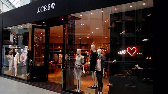 Preview J.Crew's 2014 spring collection this weekend at Toronto Eaton Centre. (Bryan Sparrow/The Ryersonian)
