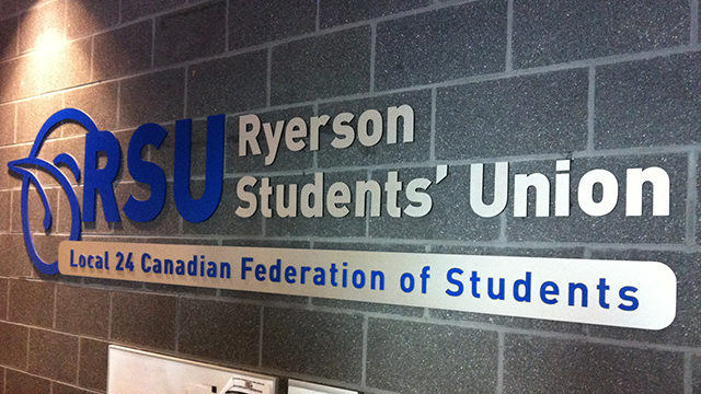 The RSU along with ten student unions signed a letter criticizing the CFS