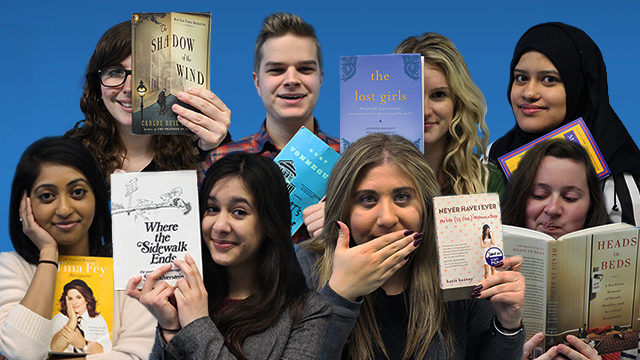 Some of the Ryersonian staff share their favourite books. (Rebecca Sedore and Arti Panday / Ryersonian Staff)