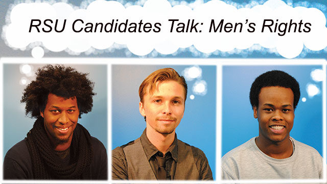 RSU's three opposing presidential candidates.