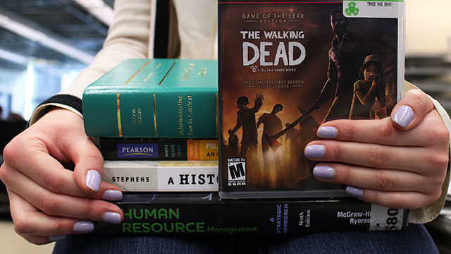 On the required reading list for a mandatory radio and television arts course: video games. (Arti Panday / Ryersonian Staff)