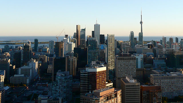 Toronto skyline. (Shannon Cuciz / Ryersonian file photo)
