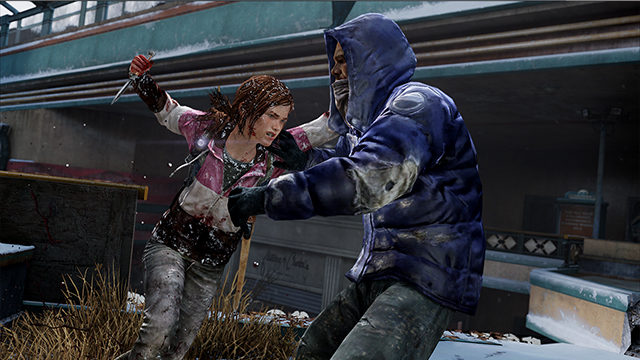 Ellie, a lesbian game character, defeats zombies in The Last of Us (Courtesy of Sony)