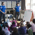 Rams teach disadvantaged youth about the importance of sport