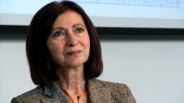 Ann Cavoukian will begin her new role at Ryerson on July 1. (Courtesy Wikimedia Commons)