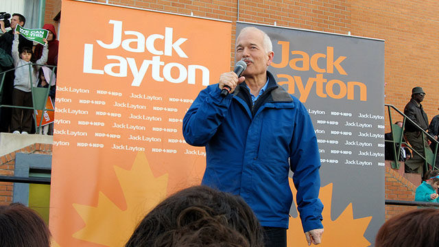 The week-long course, named The Jack Layton School for Social Activists, will honour the late NDP leader who taught at Ryerson in the '70s and '80s. (Ryerson file photo)