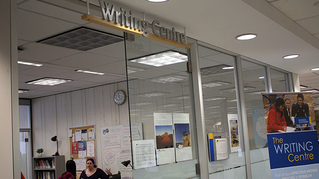 The Writing Centre helped create an online module for essay writing. (Lauren Fogazzi / Ryersonian Staff)