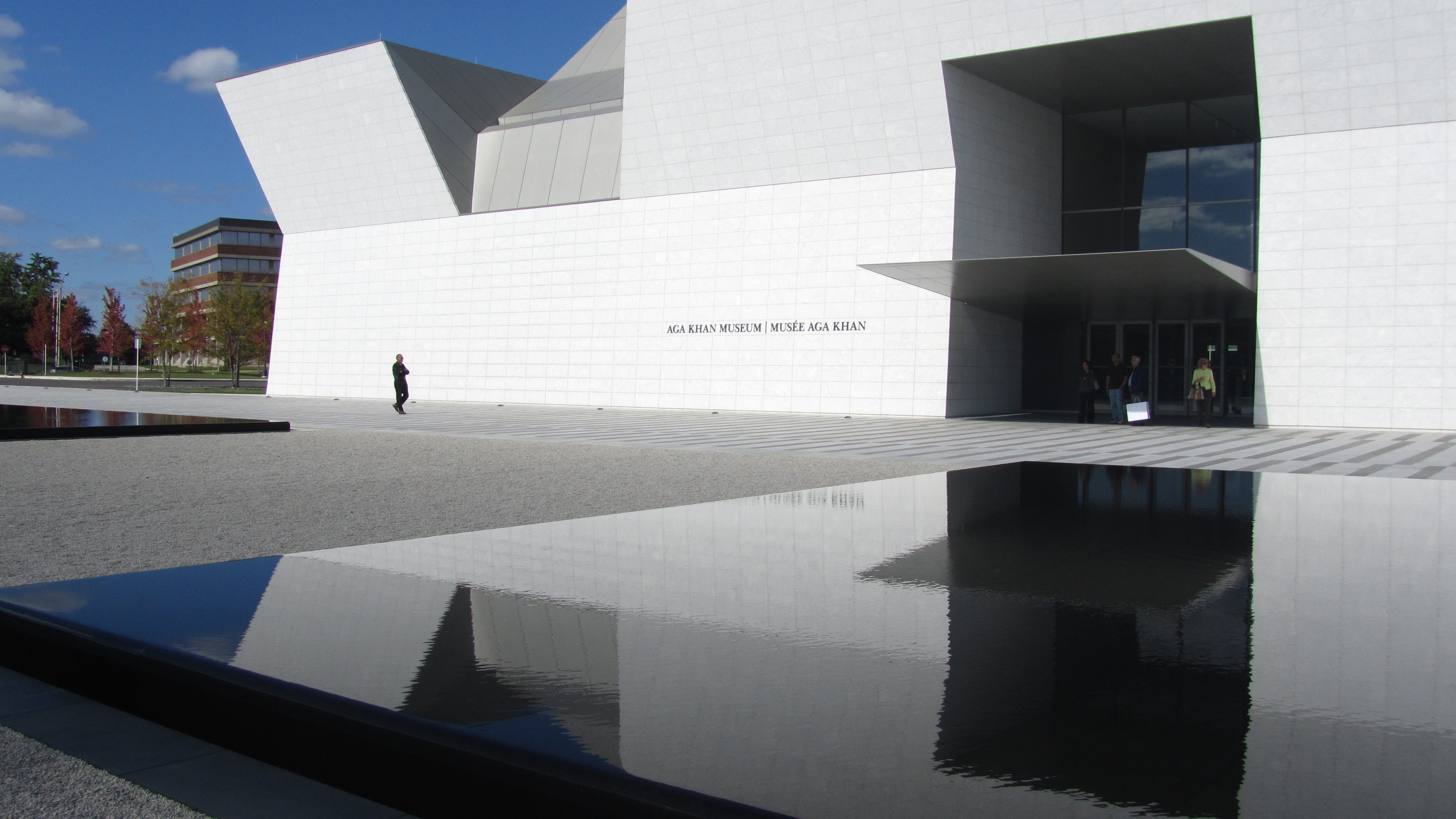 The Aga Khan museum in Don Mills opened last Thursday. (Fatima Kazmi)