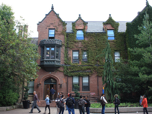 Students discussed lowering tuition fees in Oakham House on Nov. 26, 2015. (Ryersonian file photo)
