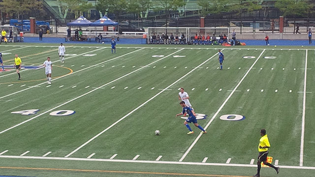 The Ryerson Men's soccer team beat UofT 2-1 to secure their fifth victory of the season and remain undefeated.