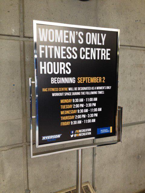 The RCA began holding women-only gym hours on Sept. 2. (Prajakta Dhopade)