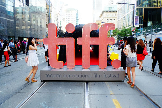 A visual tour of TIFF's inaugural Festival Street