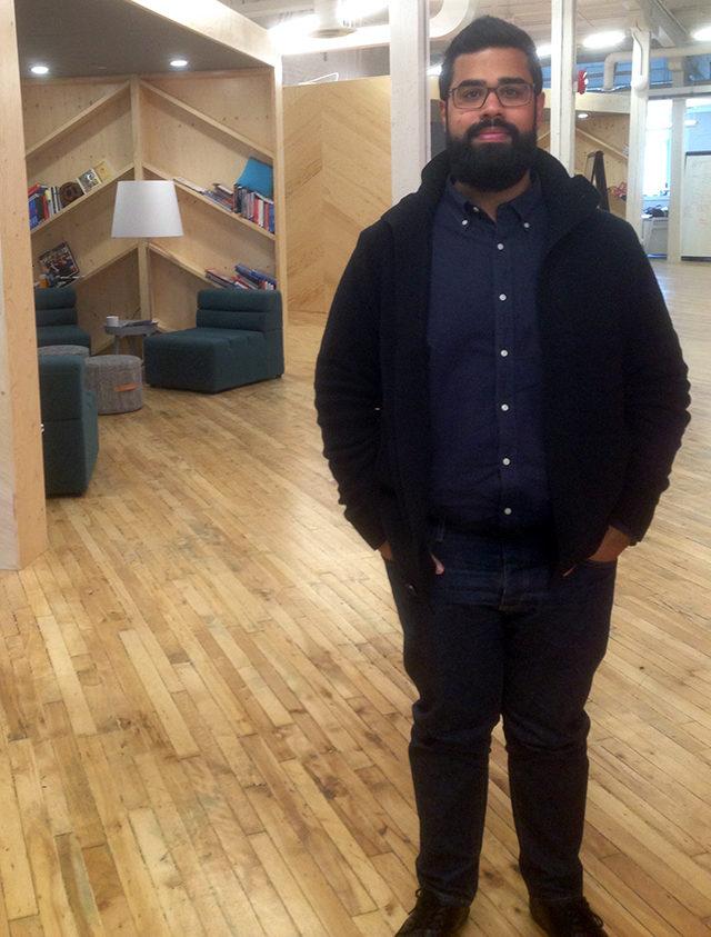 Toronto Startup Open House organizer Satish Kanwar.