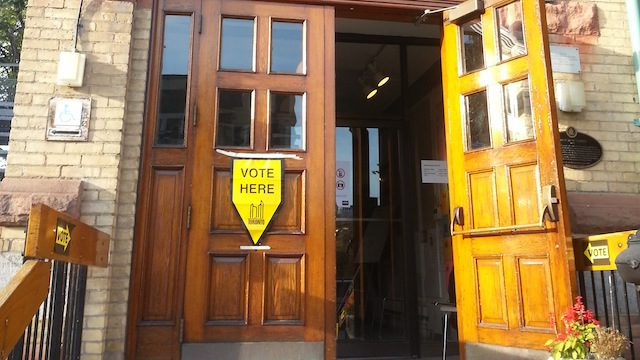 On Oct. 27, eligible students can vote at polling stations across the city. (Deanne Bender/Ryersonian)