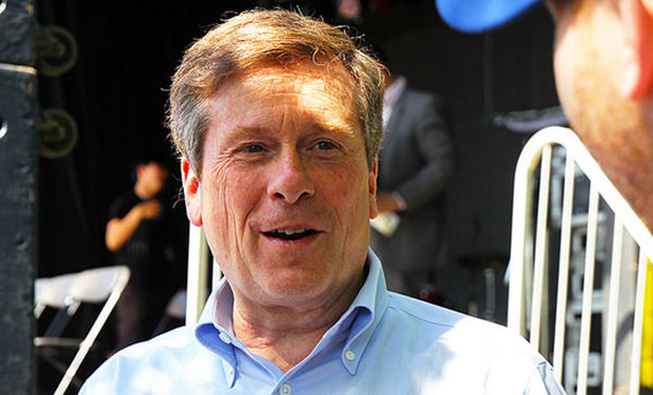 Mayoral candidate John Tory at the 2014 DANO Korean Spring Festival. (Alex Guibord, Creative Commons)
