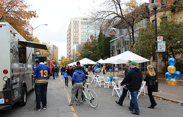 The Gould Street Party ran from 11 a.m. to 3 p.m. on Saturday, Oct. 18.