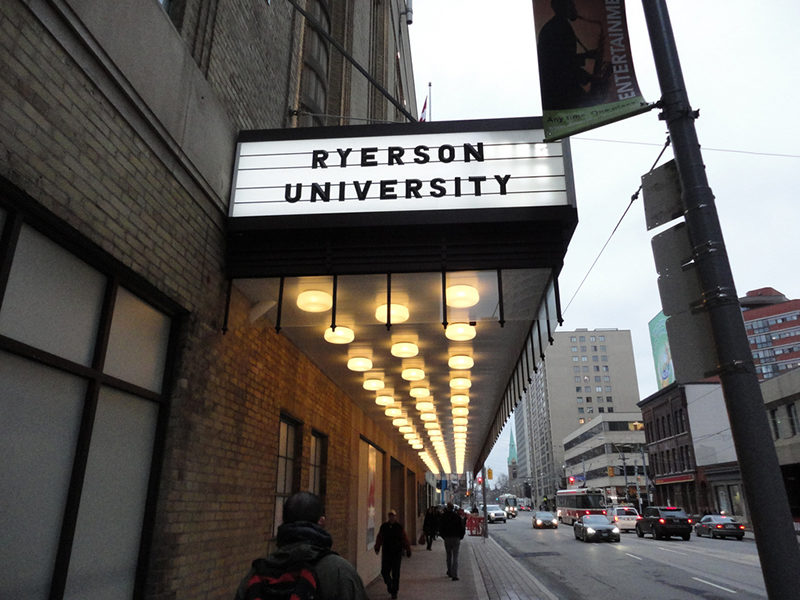 Ryerson University campus. (Courtesy Amir Seyd)