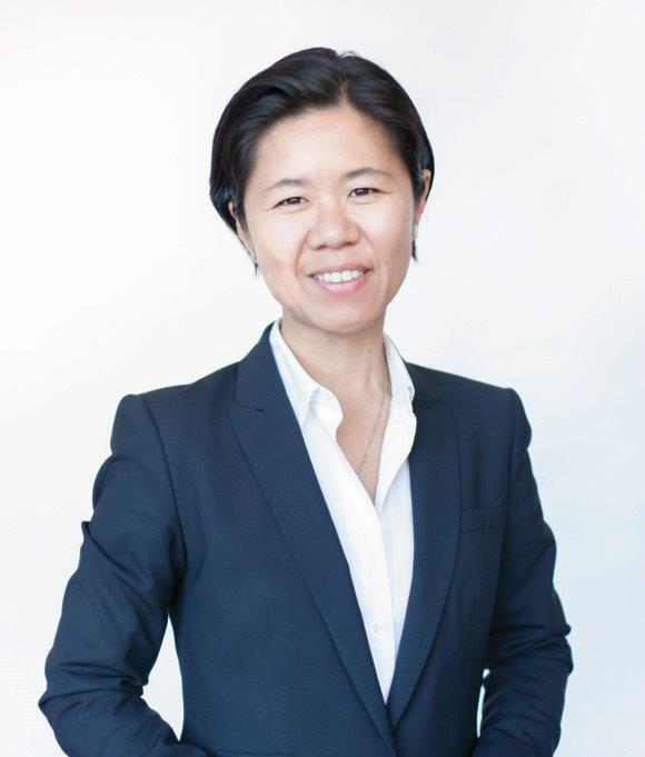 The photo shows councillor of Ward 27, Kristyn Wong-Tam .