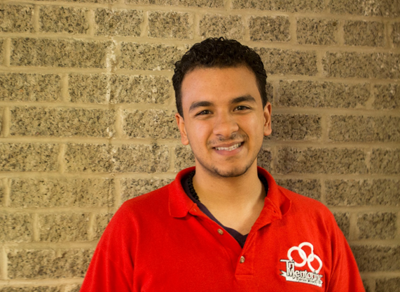 Bolis Ibrahim, third-year electrical and engineering student (Alexis Goncalves / Ryersonian Staff)