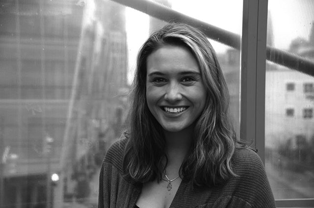 Rachel Surman is the news editor at The Ryersonian. (Photo by Dasha Zolota / Ryersonian Staff)