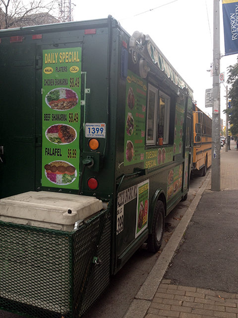 Ryerson's lone food truck finds its niche on Church St.