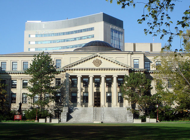 The University of Ottawa was embroiled in scandal last year after two high-profile sexual assault investigations. (Courtesy Wikimedia Commons)