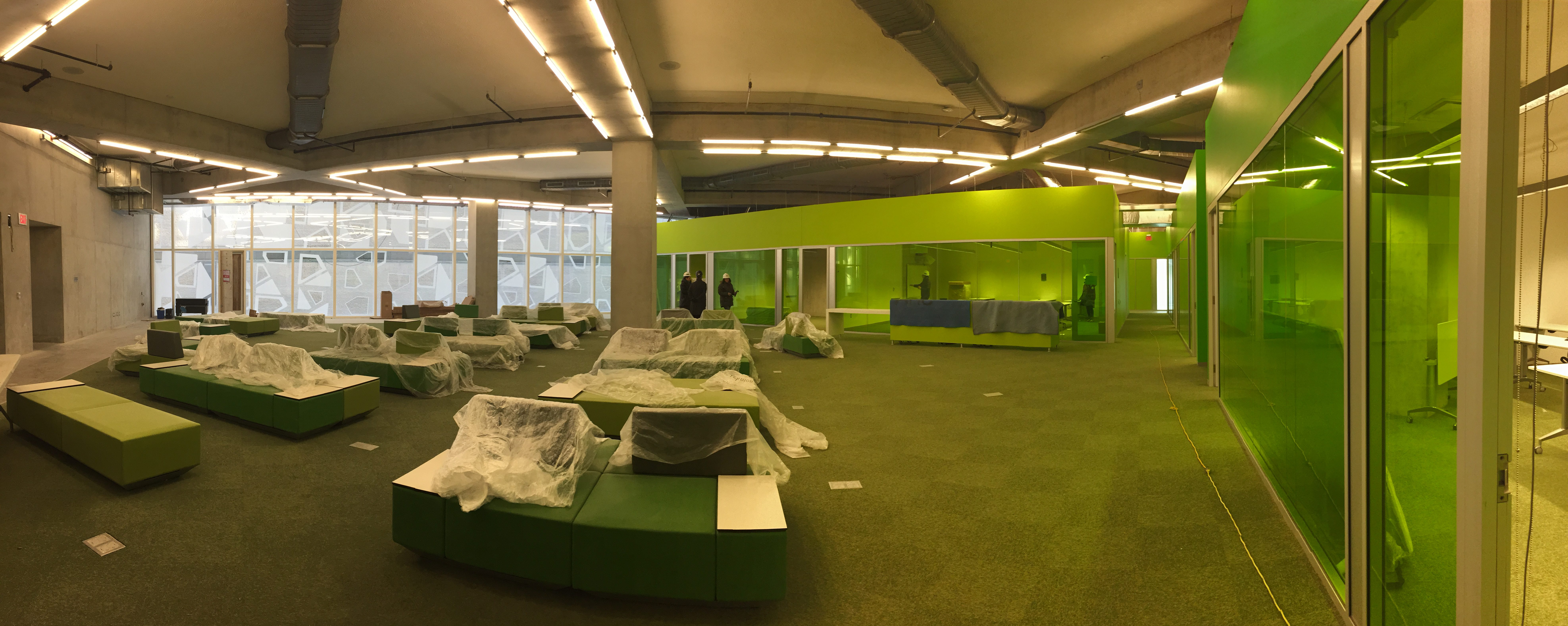 The fourth floor of the SLC, soon to house student learning support services. (Courtesy Student Learning Support)