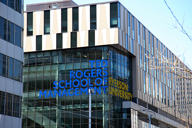 Ryerson's MBA program ranked 10th best in Canada