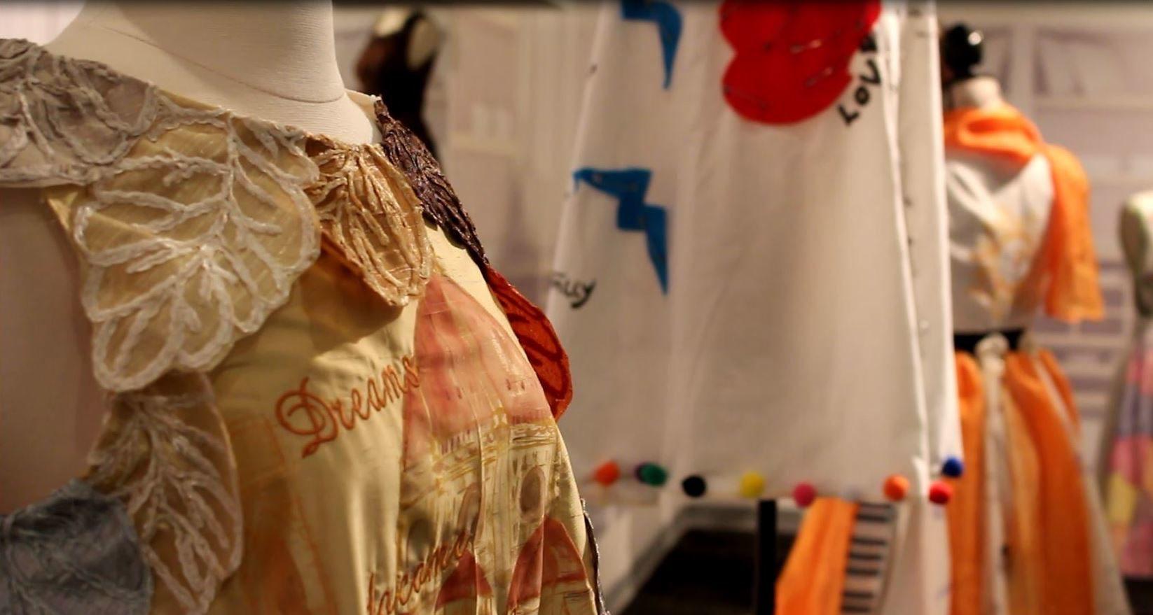 Exhibiting lives through the art of fashion design