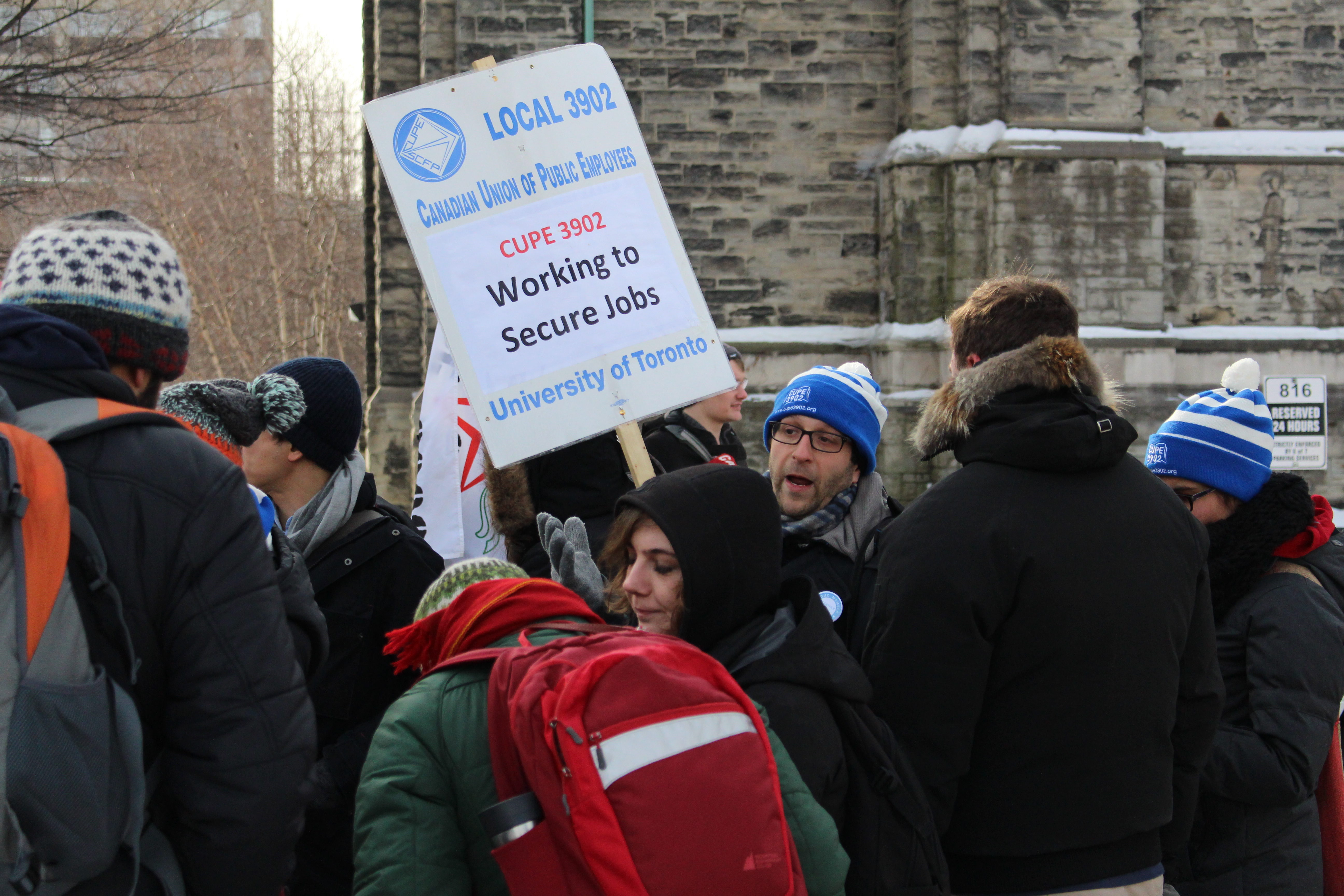 CUPE argues contract workers perform about 60 per cent of undergraduate instruction, yet their salaries account for less than eight per cent of university budgets. (Courtesy of Ashley Cochrane/Ryersonian Staff)