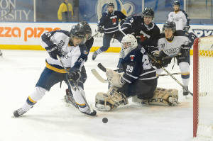Rams drop playoff opener to U of T
