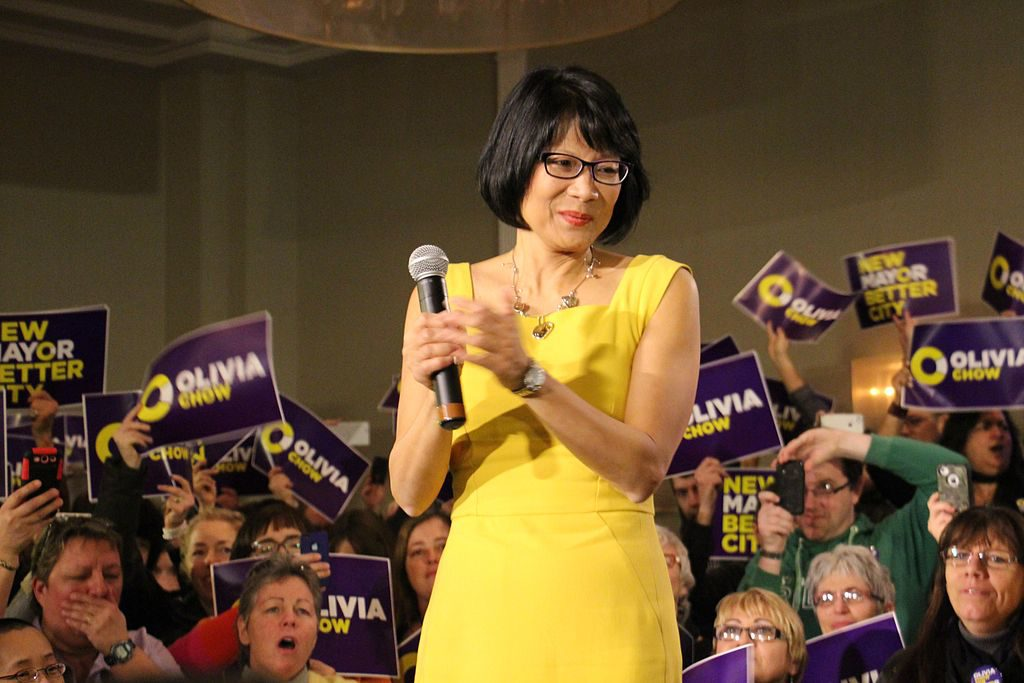 Olivia Chow will be teaching at Ryerson for three years.  (Wikimedia Commons / Flickr User / Olivia Chow)