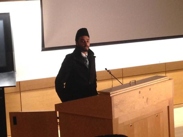Imam Yusuf Khan (Khadija Khan / Ryersonian Staff)