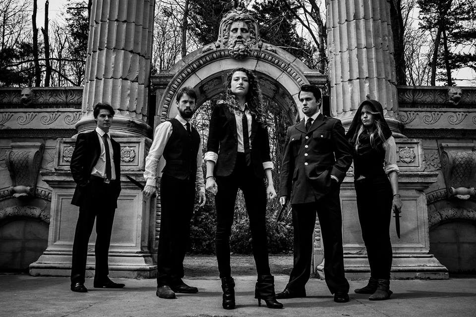 Wolf Manor Theatre Collective's first production was Shakespeare's Julius Caesar. (Courtesy of Wolf Manor Theatre Collective)