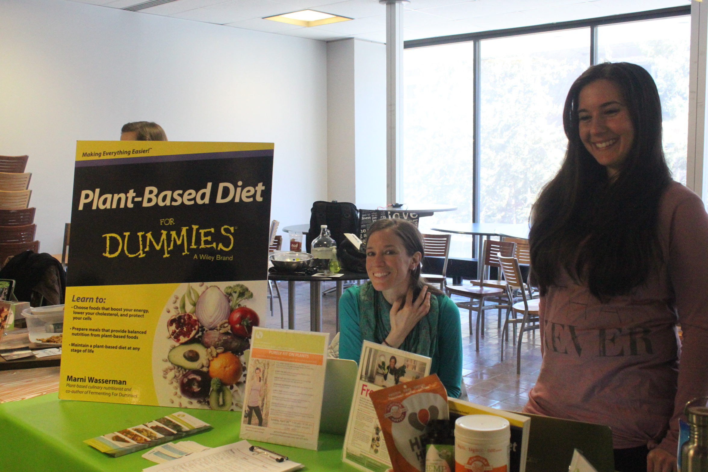 About 30 local vendors displayed their products and services at Ryerson's first VegFest. (Courtesy of  Natasha Gan / Ryersonian Staff)