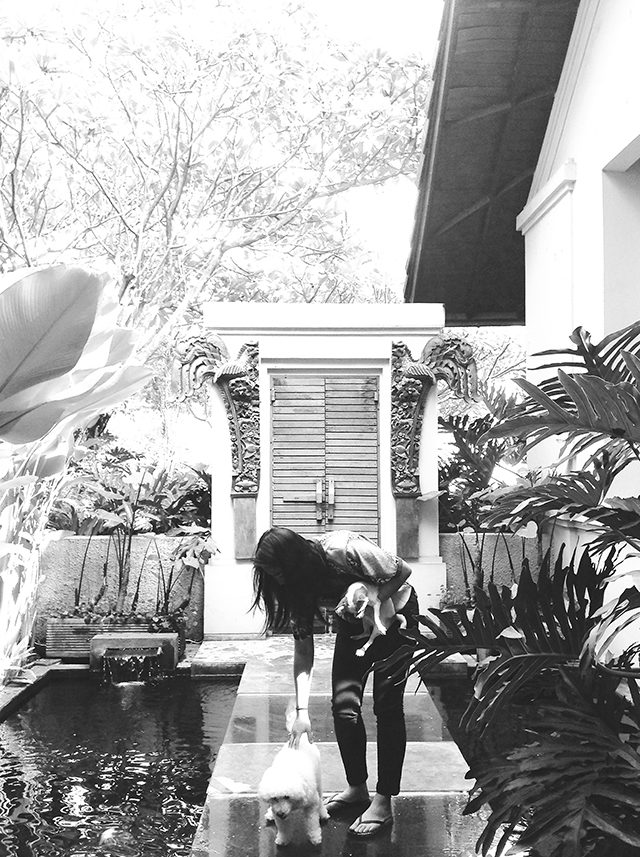 Natasha Gan at her home in Indonesia. (Courtesy of Natasha Gan/Ryersonian Staff)