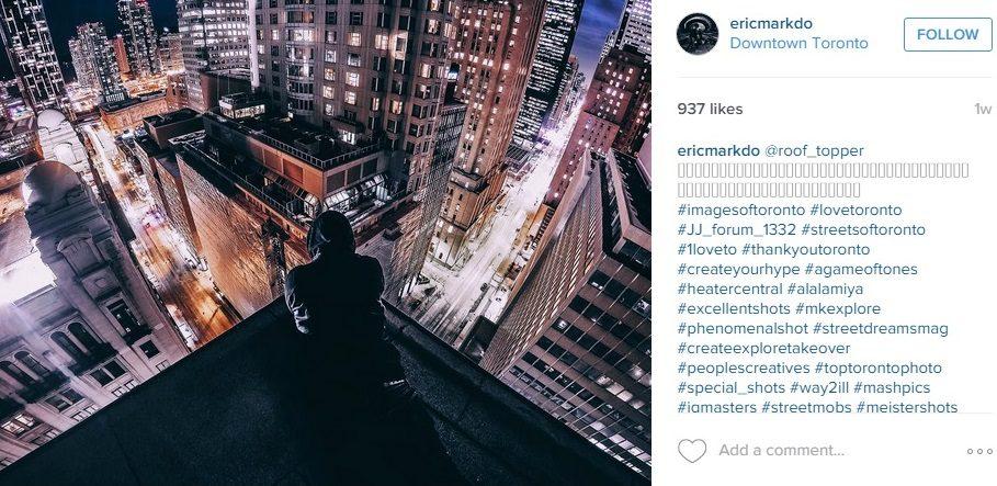 A screenshot of one of Do's recent Instagram photos. (ericmarkdo/ Instagram)