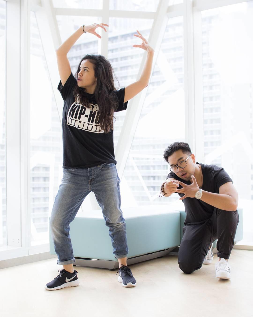 UHHU alumni: Violeta Martinez and Dan Cruz  (Courtesy Sid Naidu)