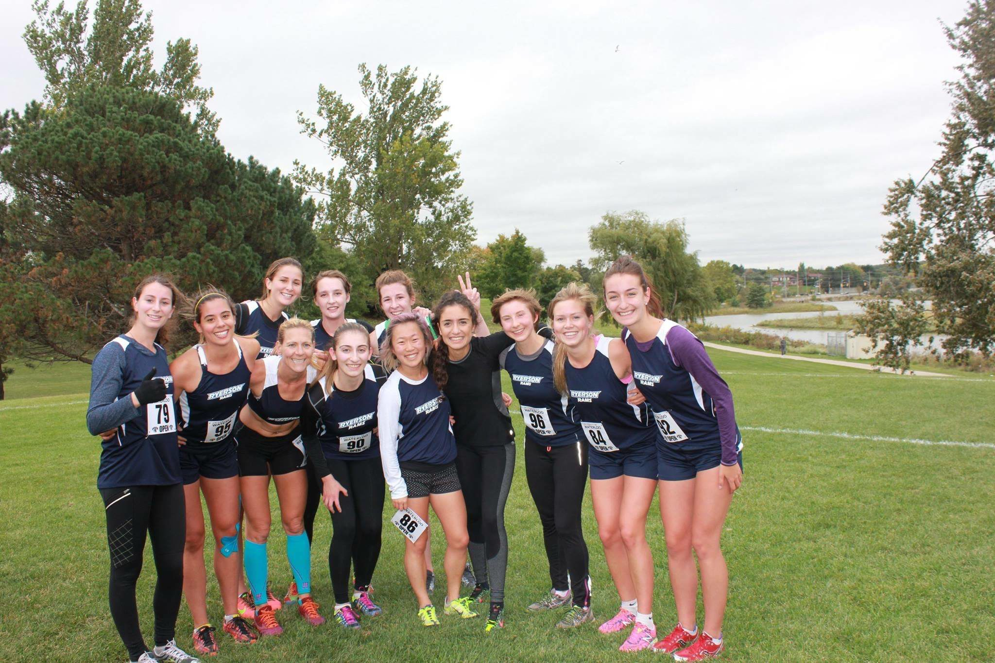Ryerson's cross country team photo. (Courtesy Tim Uuksulainen)